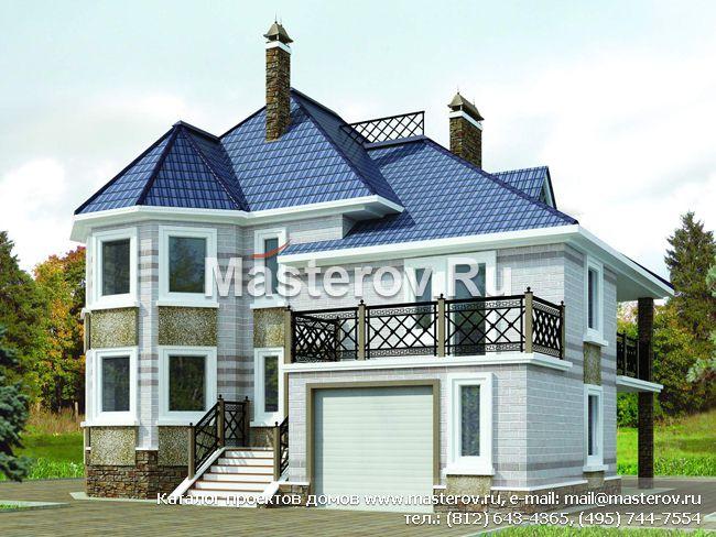 Типовой проект дома 2 этажа