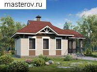 Проекты одноэтажных домов с гаражом и