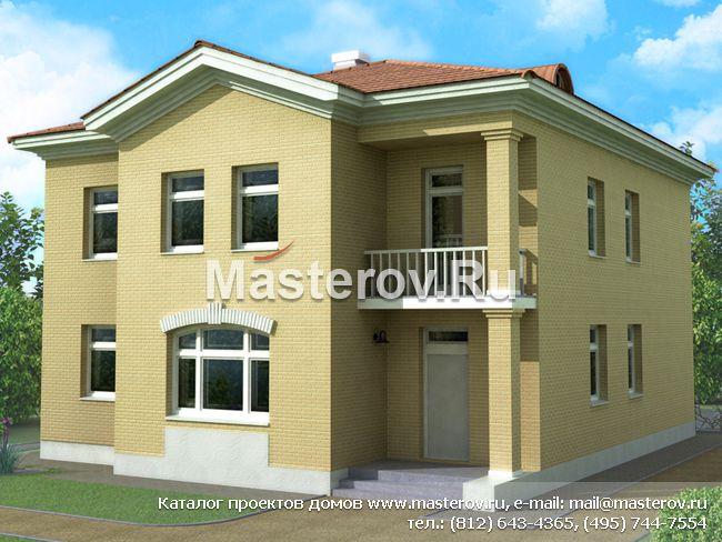 Дома с колоннами