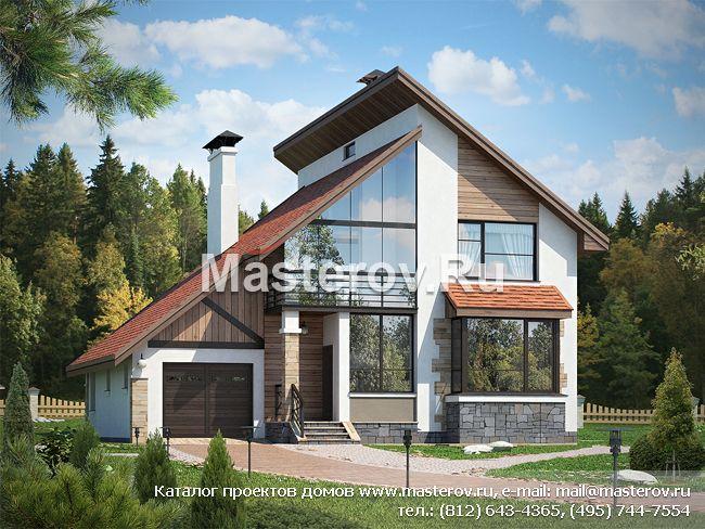 Дома с панорамными окнами № l 173 1p