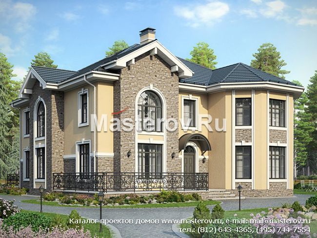 Проект дома 2 этажа,