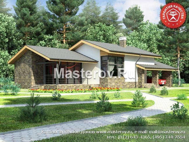 проекты домов из пеноблоков и пенобетона, проекты загородных домов